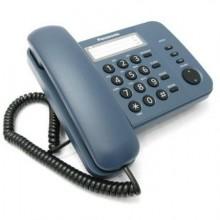 Телефон проводной Panasonic KX-TS2352 RU-C синий