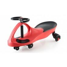Машинка детская «БИБИКАР»  с полиуретановыми колесами, красная DE 0043