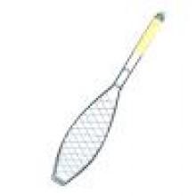 Решетка-гриль для рыбы одинарная Метиз YN-B1001D/BQ132-7, 570*130*310 хром. сталь, лат. ручка