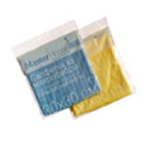 Салфетка из микрофибры M03 30x30см Бельгийские вафли (Голубой)