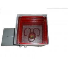 Сушилка для овощей ТермМикс, цельно металлическая, 4 поддона, с вент., цвет красный