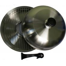 Сковорода гриль-газ D-511 нерж.сталь