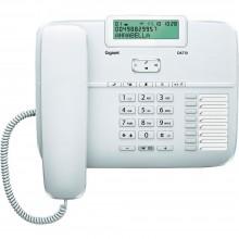 Телефон проводной Siemens Gigaset DA710 белый