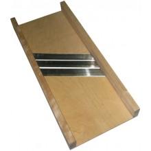 Шинковка деревянная ШК, береза, одно лезвие, регулируемое