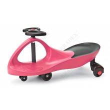 Машинка детская «БИБИКАР»  с полиуретановыми колесами, салатово-оранжевая DE 0058