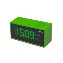 Радиобудильник RITMIX RRC-1212 GREEN. ЖК дисплей 1