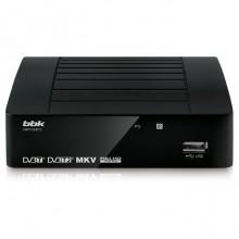 Ресивер цифровой BBK SMP-012HDT2 черный