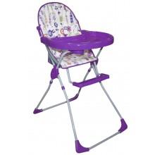 Стульчик для кормления SELBY 152 Яркий луг фиолетовый