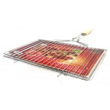 Решетка-гриль для мяса Метиз РГМ нерж.420*250 дер. ручка