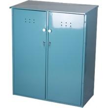 Шкаф д/газовых баллонов разборный 2 баллона 50 л метлес-1