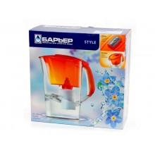 Фильтр для воды Барьер-Стайл (оранжевый)
