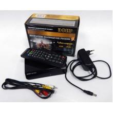Ресивер эфирный цифровой DVB-T2 HD HD-502 пластик в блистере, Эфир