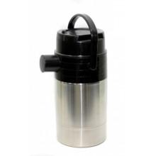 Термос АМЕТ 3 л Гейзер 1С-58 нерж.сталь, серебро, 1 пробка, носик, ручка