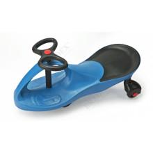 Машинка детская «БИБИКАР»  с полиуретановыми колесами, синяя DE 0045