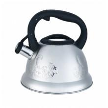 Чайник со свистком Zeidan Z-4111, об.3,5 л., нерж.сталь, комбинированная полировка корпуса