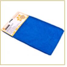 Тряпка для пола из микрофибры M-02F-L, цвет: синий, размер: 50*60 см