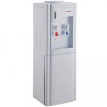 Кулер-диспенсер AVEX H-63FW, напольный, 550Вт., электр.охлаждение, 0,75 л/час., нагрев 5 л/час, встроенный шкаф
