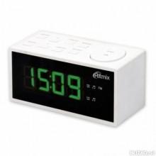 Радиобудильник RITMIX RRC-1212 WHITE. ЖК дисплей 1