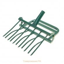 Рыхлитель ЗЕМЛЕКОП-6 садово-огородный (одна ручка, 6 зубьев, ширина копки одной полосы 480мм)