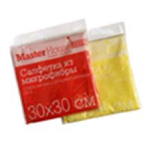 Салфетка из микрофибры M01 30x30см (Зеленый)