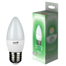Лампа светодиодная ECON LED CN 7Вт E27 3000K B35
