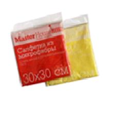 Салфетка из микрофибры M02 30x30см (Желтый)