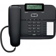 Телефон проводной Siemens Gigaset DA710 черный