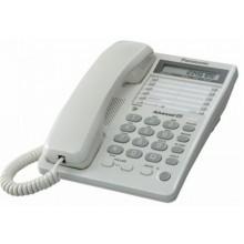 Телефон проводной Panasonic KX-TS2362 RU-W белый