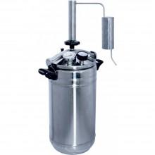 Автоклав-стерилизатор Домашний погребок 2в1, 22л +надстройка Классик для самогоноварения