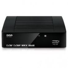 Ресивер цифровой  BBK SMP-137HDT2  черный