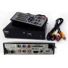 Ресивер эфирный цифровой DVB-T2 HD HD-200 металл