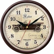 Часы настенные TROYKA 91931920 (ретро)