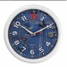 Часы настенные TROYKA 21210252 (Джинсы, круг, пластик)