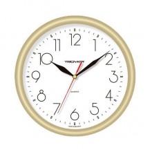 Часы настенные TROYKA 21271212 (бел. фон золот.кольцо)