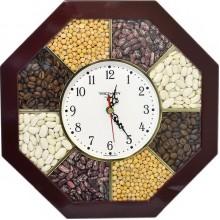 Часы настенные TROYKA 41431321 (специи пластик)