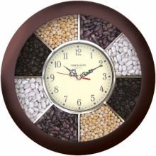 Часы настенные TROYKA 11131141 (коричн.круг пластик специи)